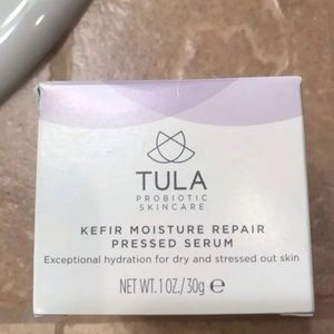 Two Tula Kefir Moisture Repair Pressed serums